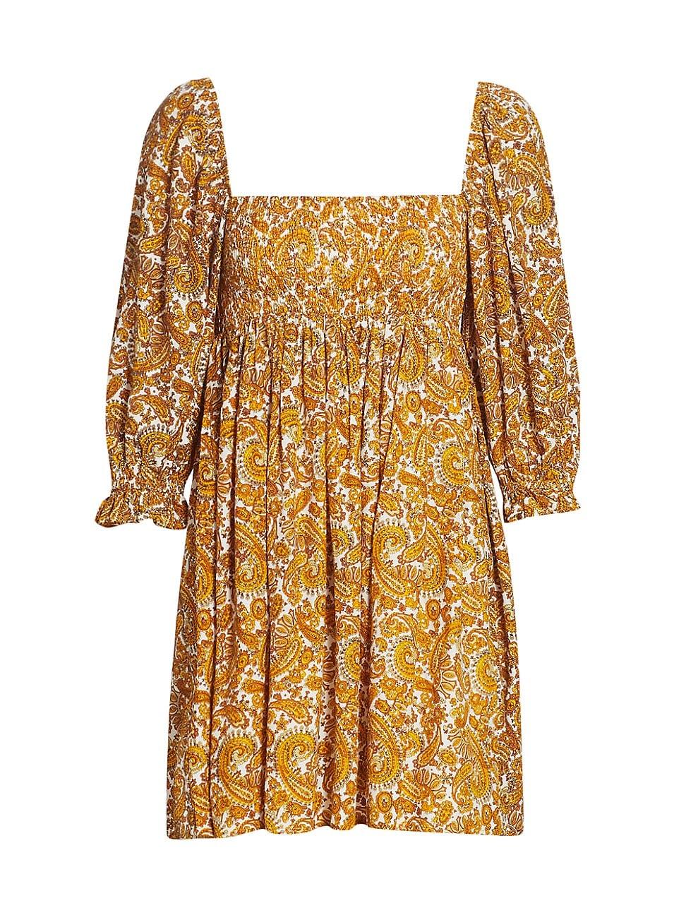 Faithfull The Brand WOMEN'S ALINA MINI DRESS