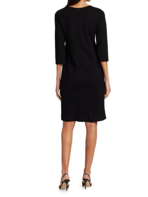 Joan Vass Petite Colorblock Sheath Dress   SaksFifthAvenue