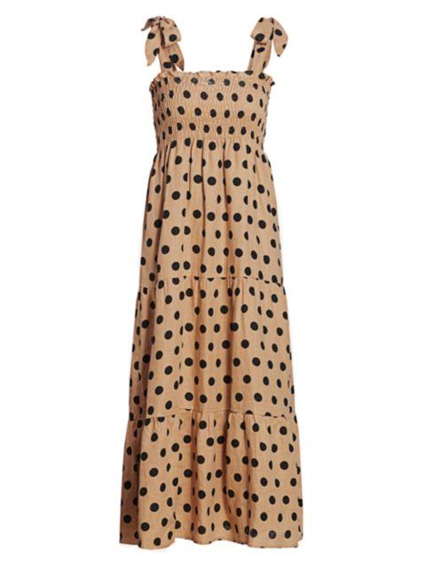 Faithfull the Brand Rianne Midi Dress | SaksFifthAvenue