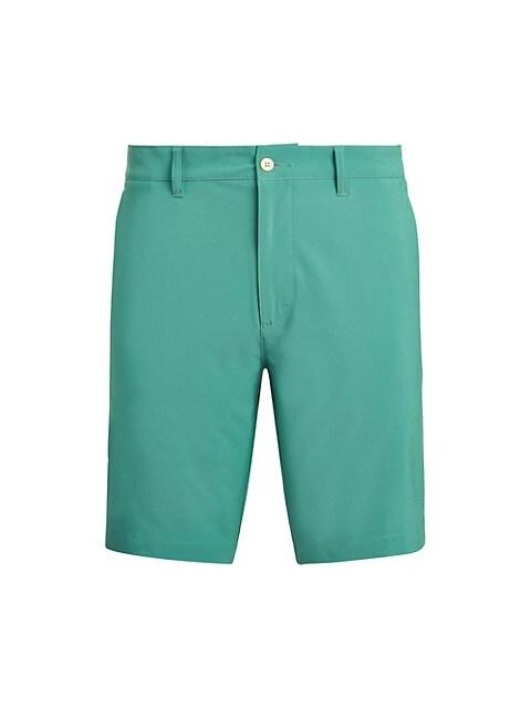 Stretch Polyester Shorts