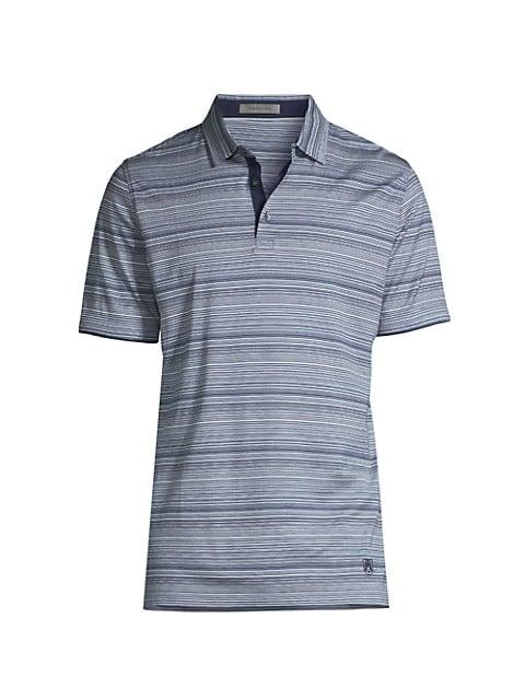 Mixed Stripe Polo Shirt