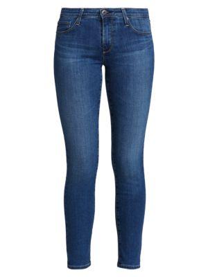 Ag Prima Ankle Mid-Rise Cigarette Jeans