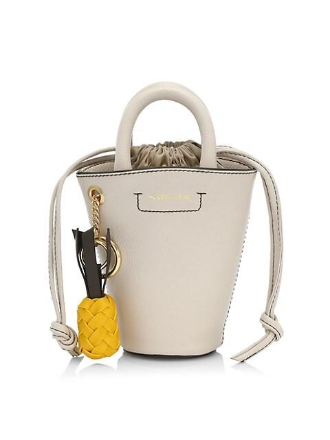 Mini Cecilia Drawstring Bucket Bag