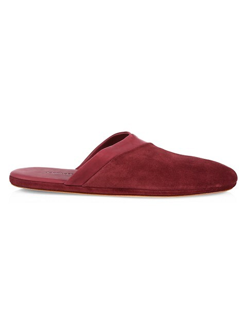 Suede & Leather Slippers