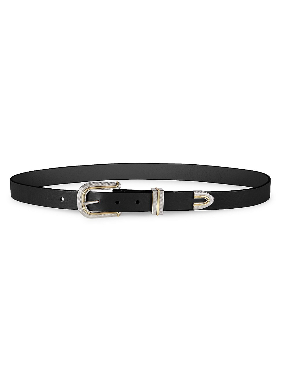 RAG & BONE WOMEN'S VENTURA LEATHER BELT