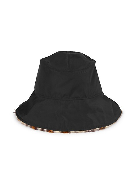 Addison Reversible Revival & Faux Fur Bucket Hat