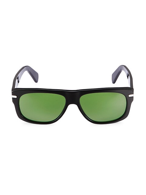 58MM Rectangular Sunglasses