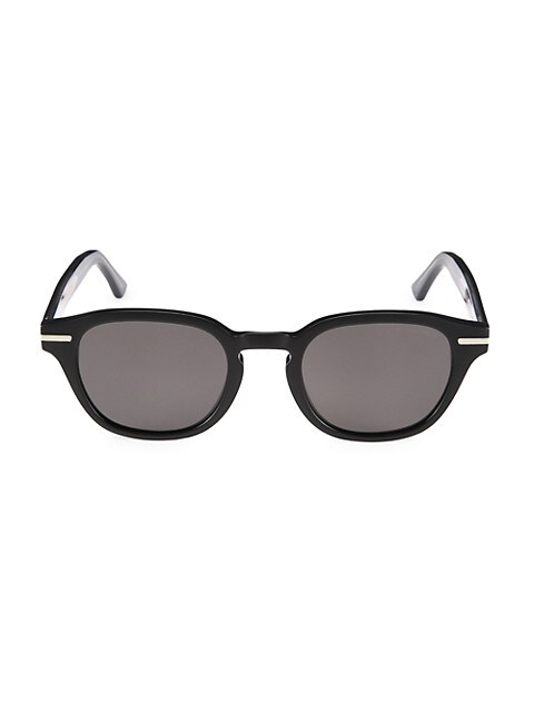 55MM Round Keyhole Sunglasses