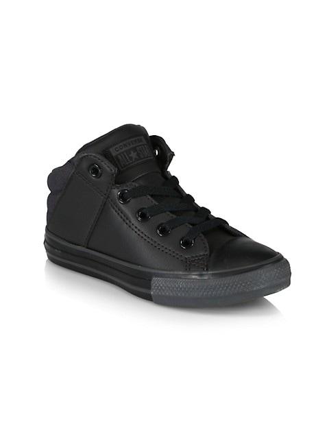 Boy's Axel Faux Leather Sneakers