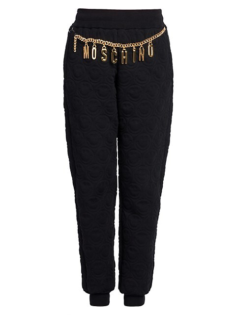 Quilted Chain Trousers