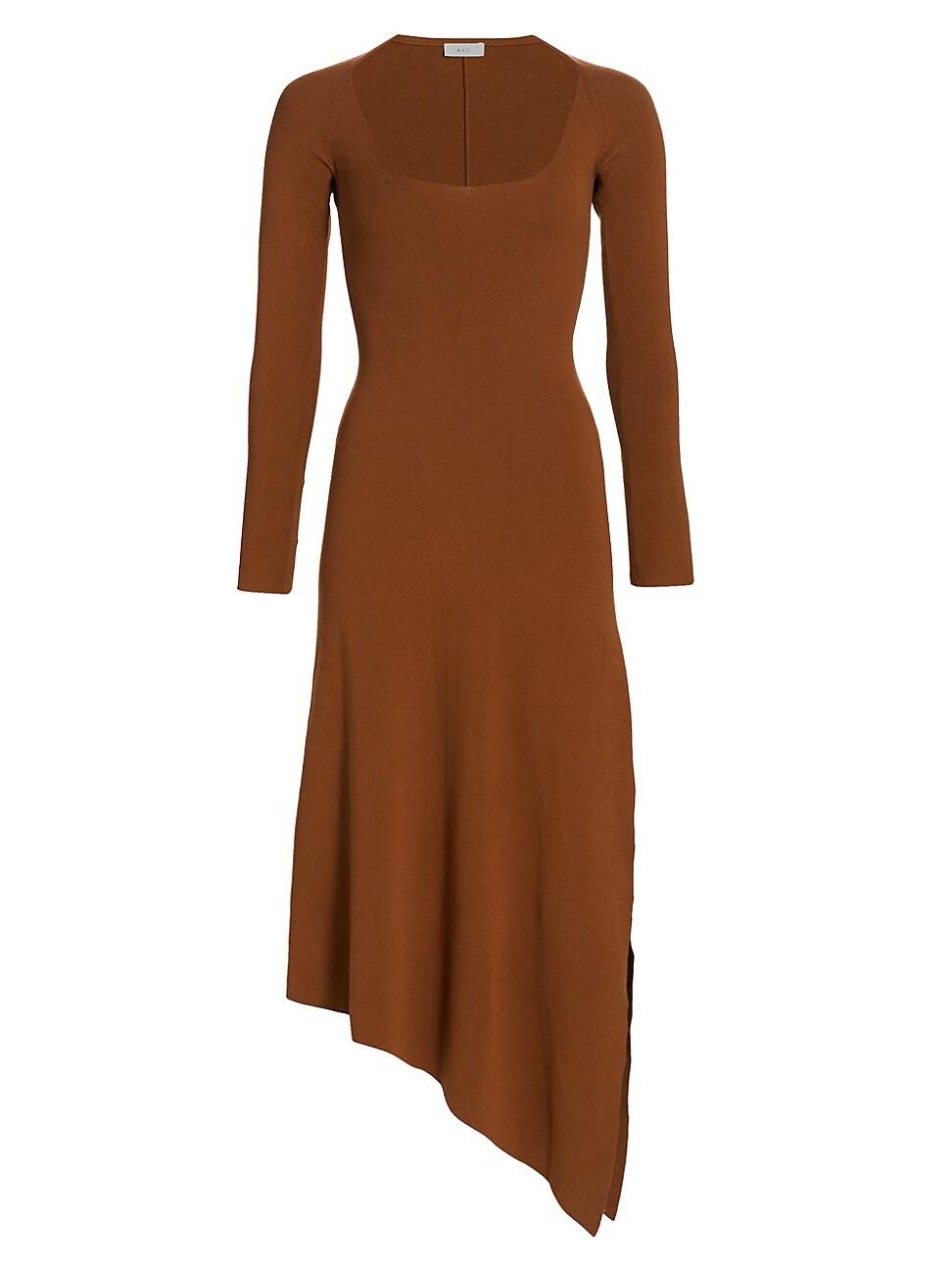 A.l.c WOMEN'S HARVEY ASYMMETRICAL DRESS