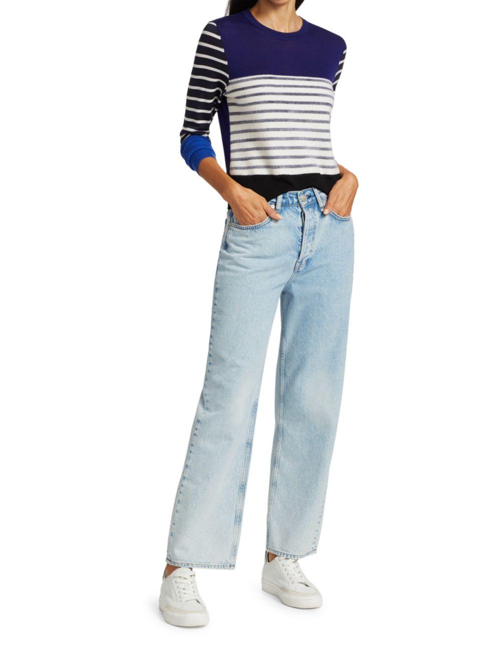 Rag & Bone Marissa Contrast Stripe Sweater | SaksFifthAvenue