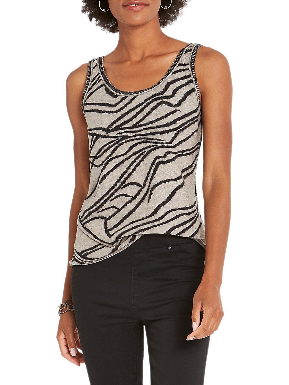 Nic + Zoe WOMEN'S INNER STRENGTH SWEATER TANK