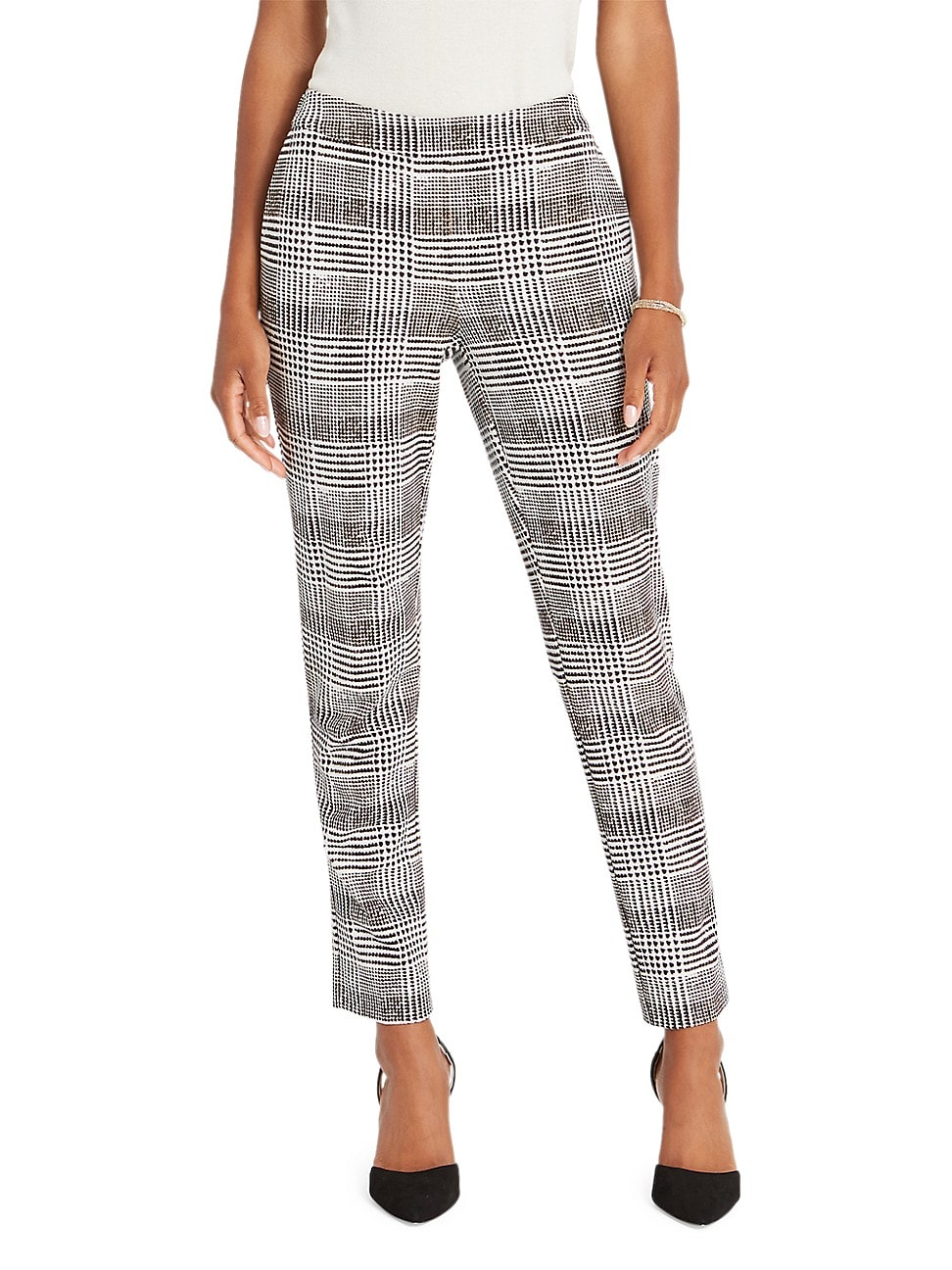 Nic + Zoe WOMEN'S MODERN PLAID PANTS
