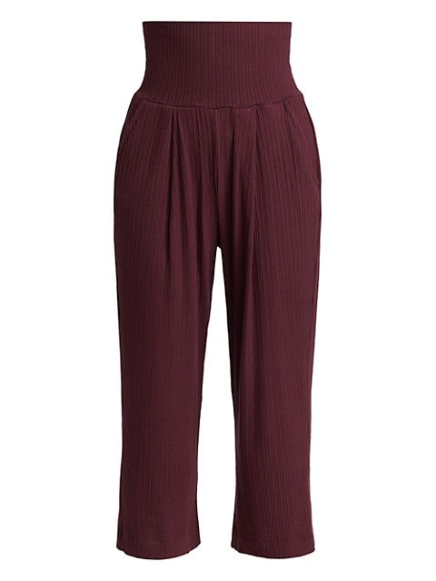 Russ High-Rise Pleated Pants