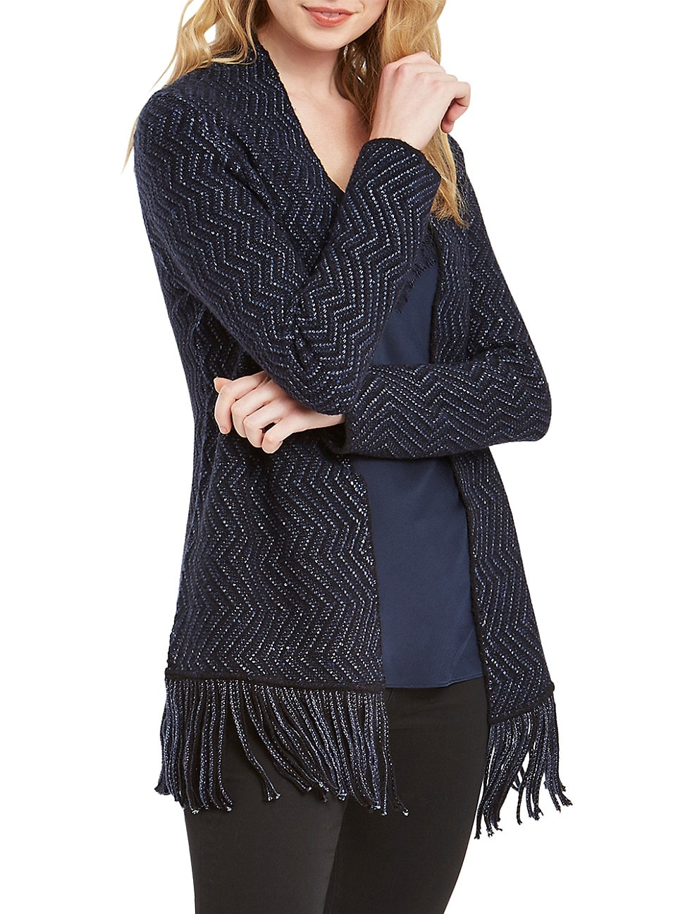Nic + Zoe WOMEN'S SPARKLE & SHINE CARDIGAN