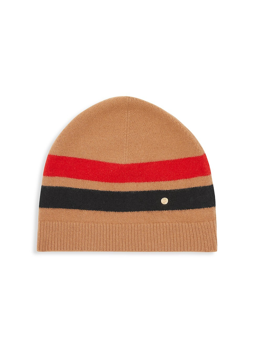 Burberry Beanies WOMEN'S GRAPHIC STRIPE WOOL & CASHMERE BEANIE