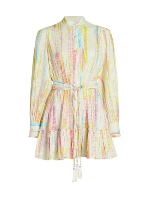 Hemant & Nandita Tie-Dye Shirtdress | SaksFifthAvenue