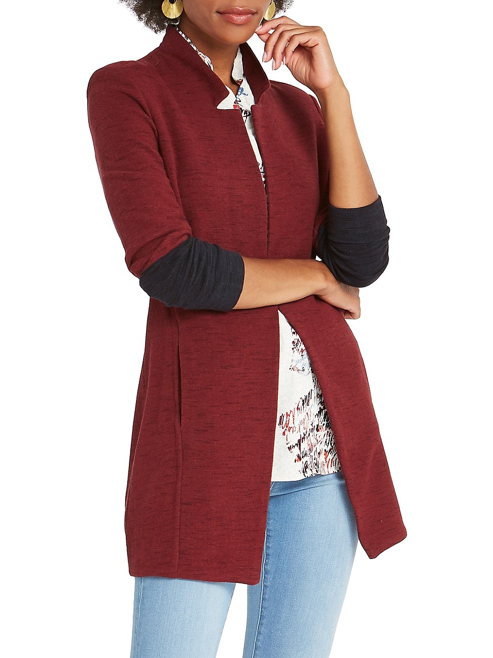 Nic + Zoe WOMEN'S COLOR BLOCK ME JACKET