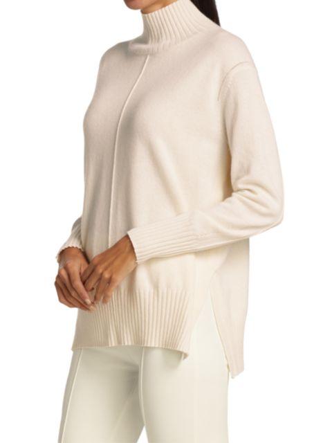 Joan Vass Cashmere High-Neck Sweater | SaksFifthAvenue
