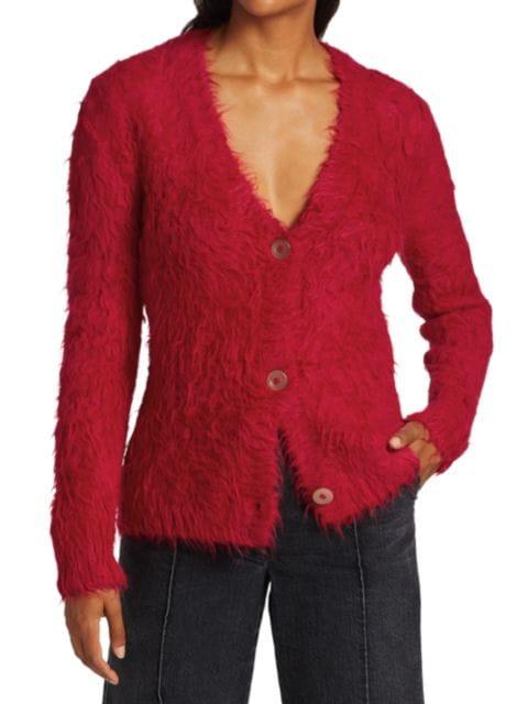 Rachel Comey Earl Alpaca & Wool-Blend Cardigan | SaksFifthAvenue