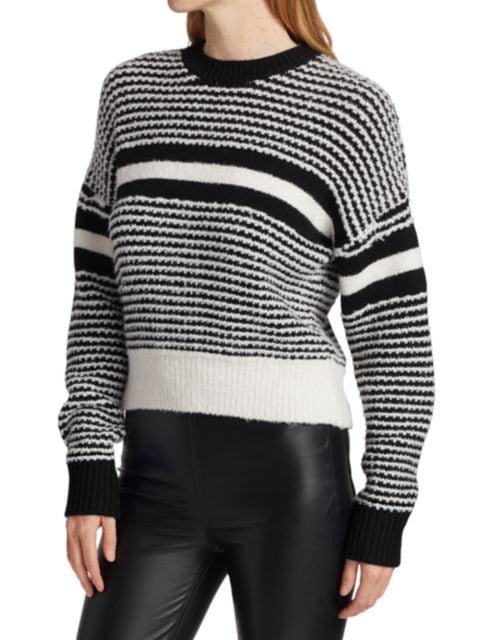 Rag & Bone Teddy Striped Crewneck Sweater | SaksFifthAvenue