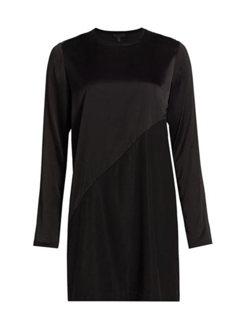 ATM Anthony Thomas Melillo Stretch Silk Mini Dress   SaksFifthAvenue