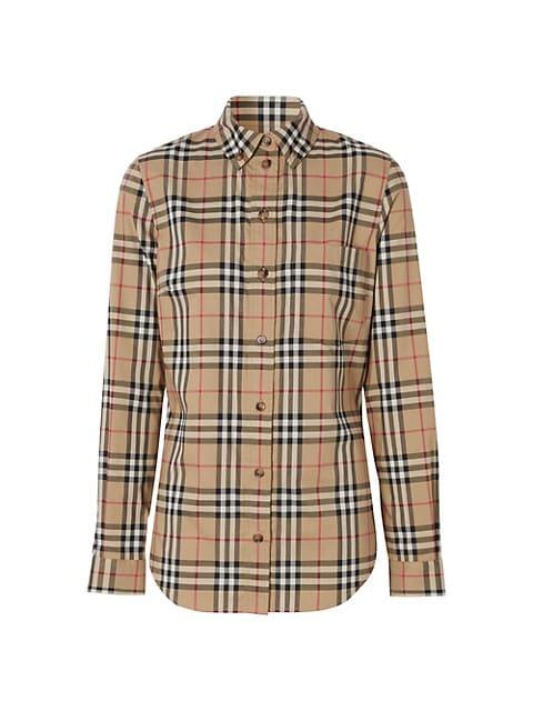 Archive Check Button-Down Shirt