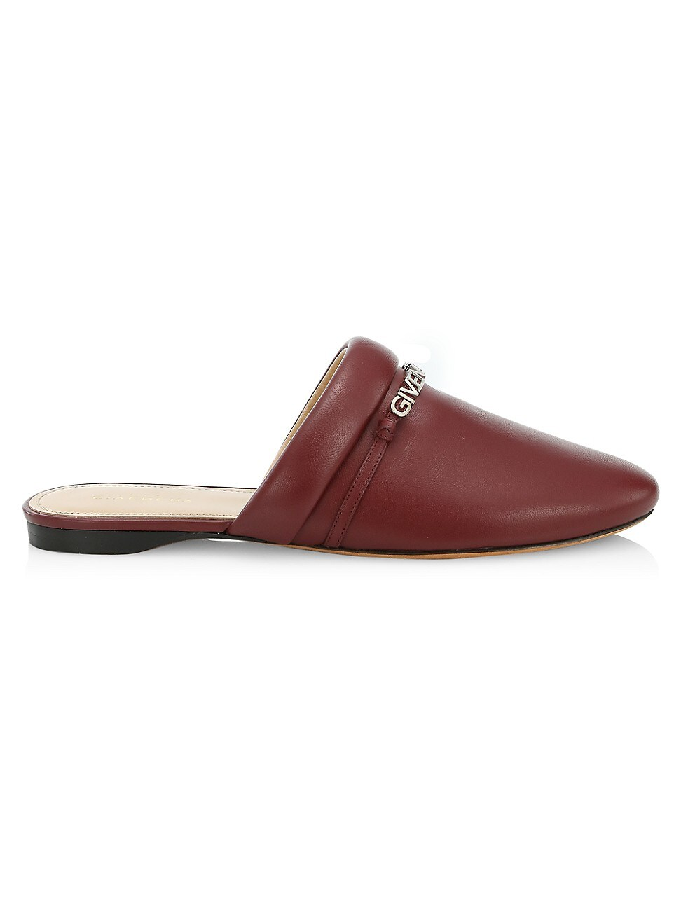 Givenchy WOMEN'S ELBA LEATHER FLAT SLIPPERS