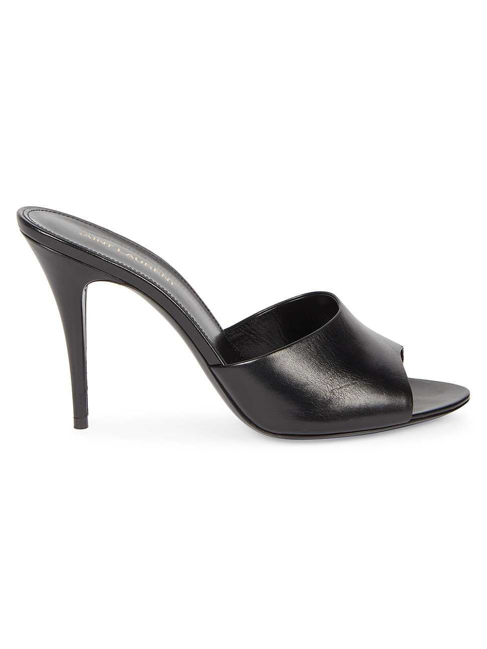 Saint Laurent WOMEN'S SEXY LEATHER MULES