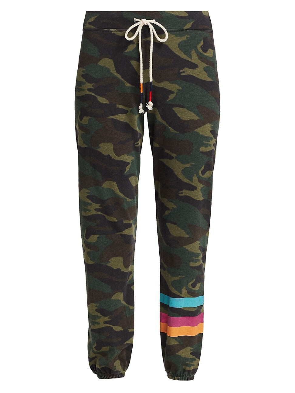 Sundry WOMEN'S STRIPES CAMO PANTS