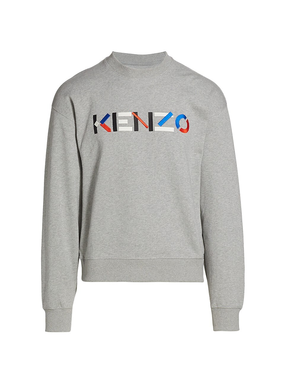 Kenzo MEN'S MULTICOLOR LOGO SWEATSHIRT