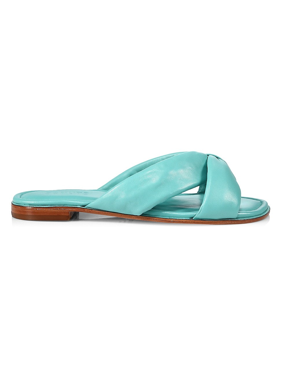Schutz WOMEN'S FAIRY PADDED LEATHER SANDALS