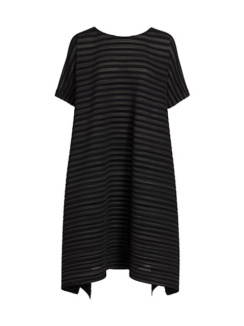 Komorebi Garment Pleated Shift Dress