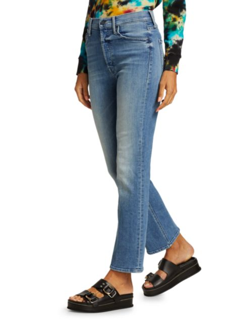 Mother The Tripper Ankle Jeans   SaksFifthAvenue
