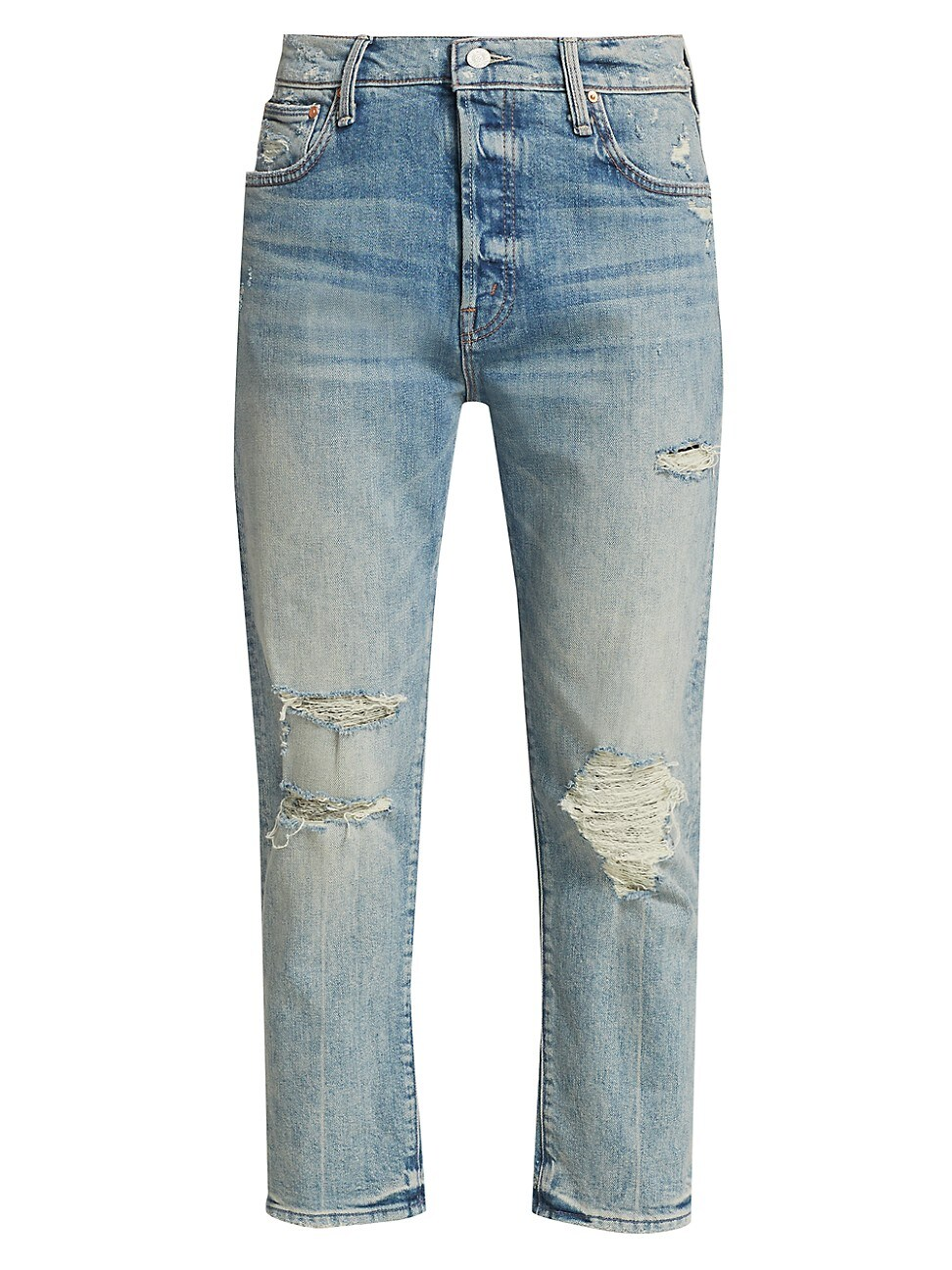 Mother WOMEN'S THE SCRAPPER ANKLE DISTRESSED JEANS