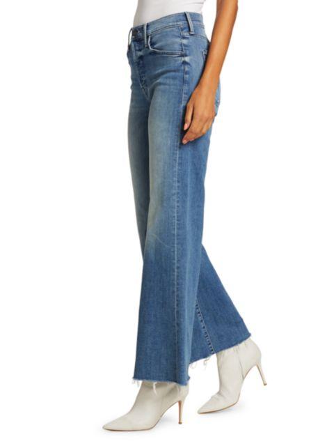 Mother The Tomcat Roller Fray Jeans | SaksFifthAvenue