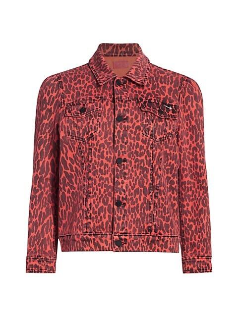 The Puffy Bruiser Leopard Jacket