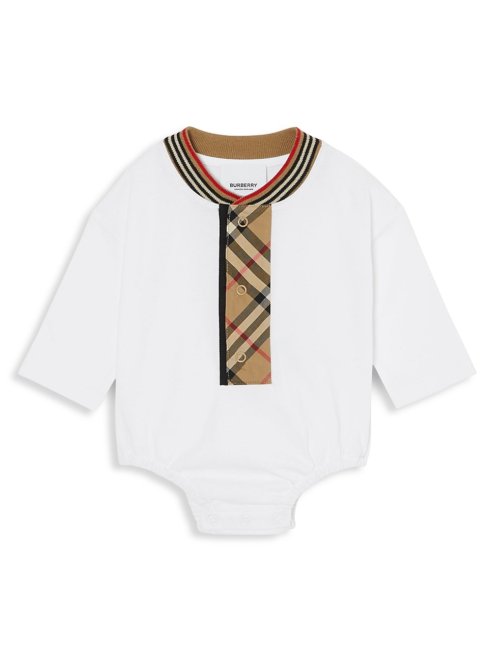 Burberry BABY'S KNOX CHECK BODYSUIT