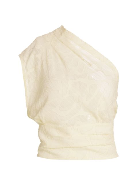 IRO Rinie One-Shoulder Blouse   SaksFifthAvenue