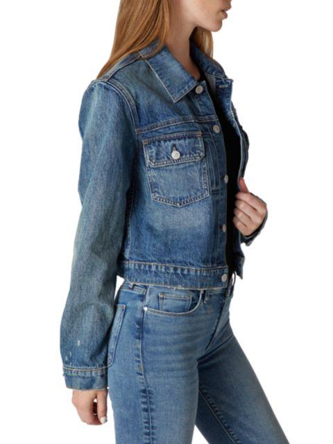 Hudson Lola Shrunken Trucker Jacket | SaksFifthAvenue