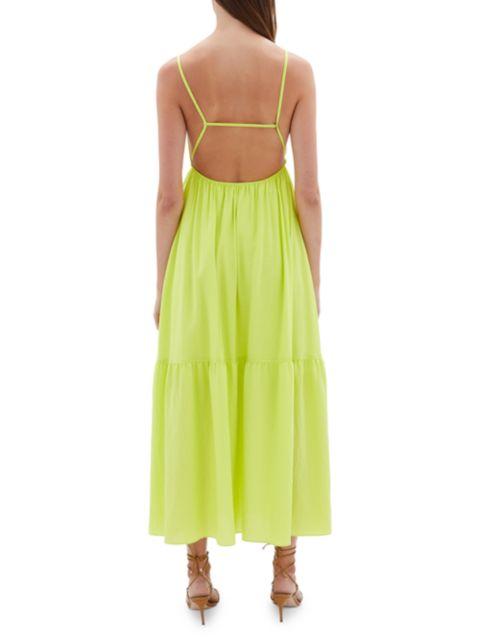 Jonathan Simkhai Calliope Cutout Maxi Dress | SaksFifthAvenue
