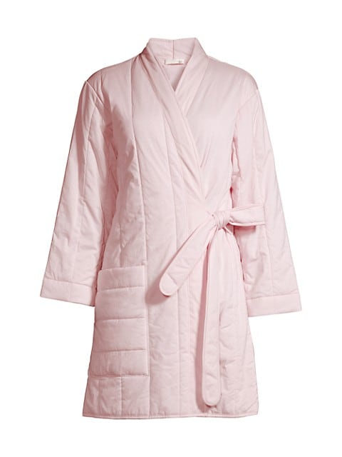 Cotton Quilted Robe
