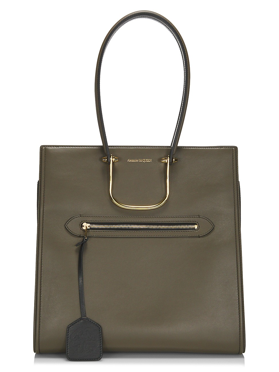 Alexander Mcqueen WOMEN'S THE TALL STORY LEATHER TOTE