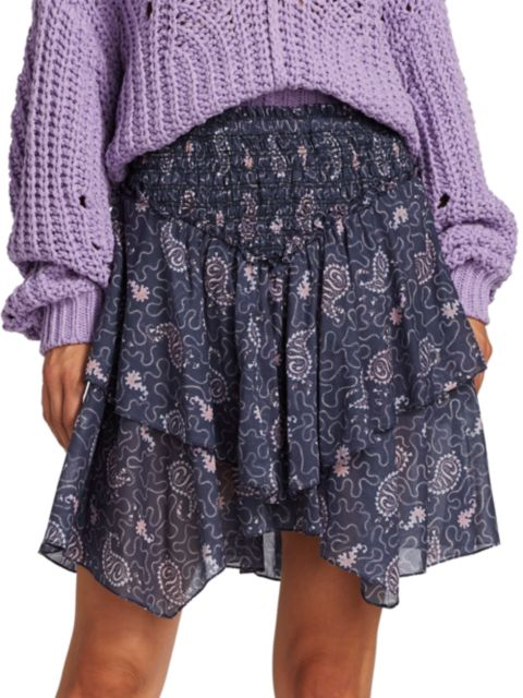 Isabel Marant Etoile Also Handkerchief Mini Skirt   SaksFifthAvenue