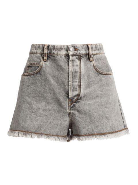 Isabel Marant Etoile Lesiasr High-Rise Denim Shorts | SaksFifthAvenue