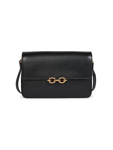 Maillon Leather Crossbody Bag