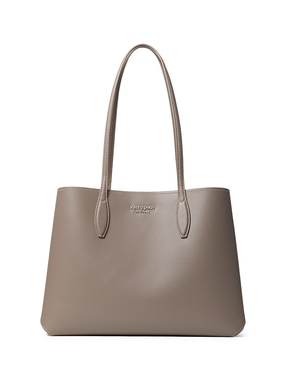 Kate Spade WOMEN'S LARGE ALL DAY LEATHER TOTE - MINERAL GREEN