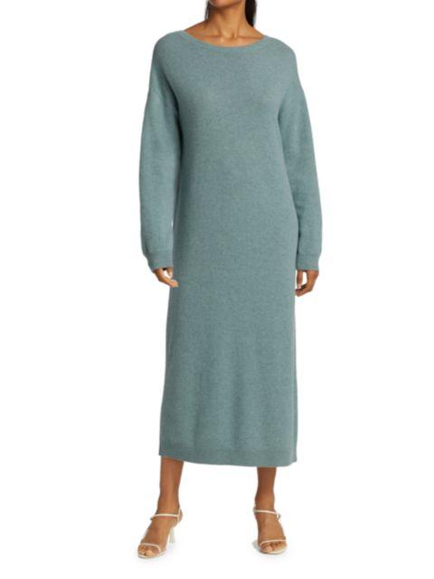 Remain Birger Christensen Valcyrie Open-Back Knit Midi Dress | SaksFifthAvenue