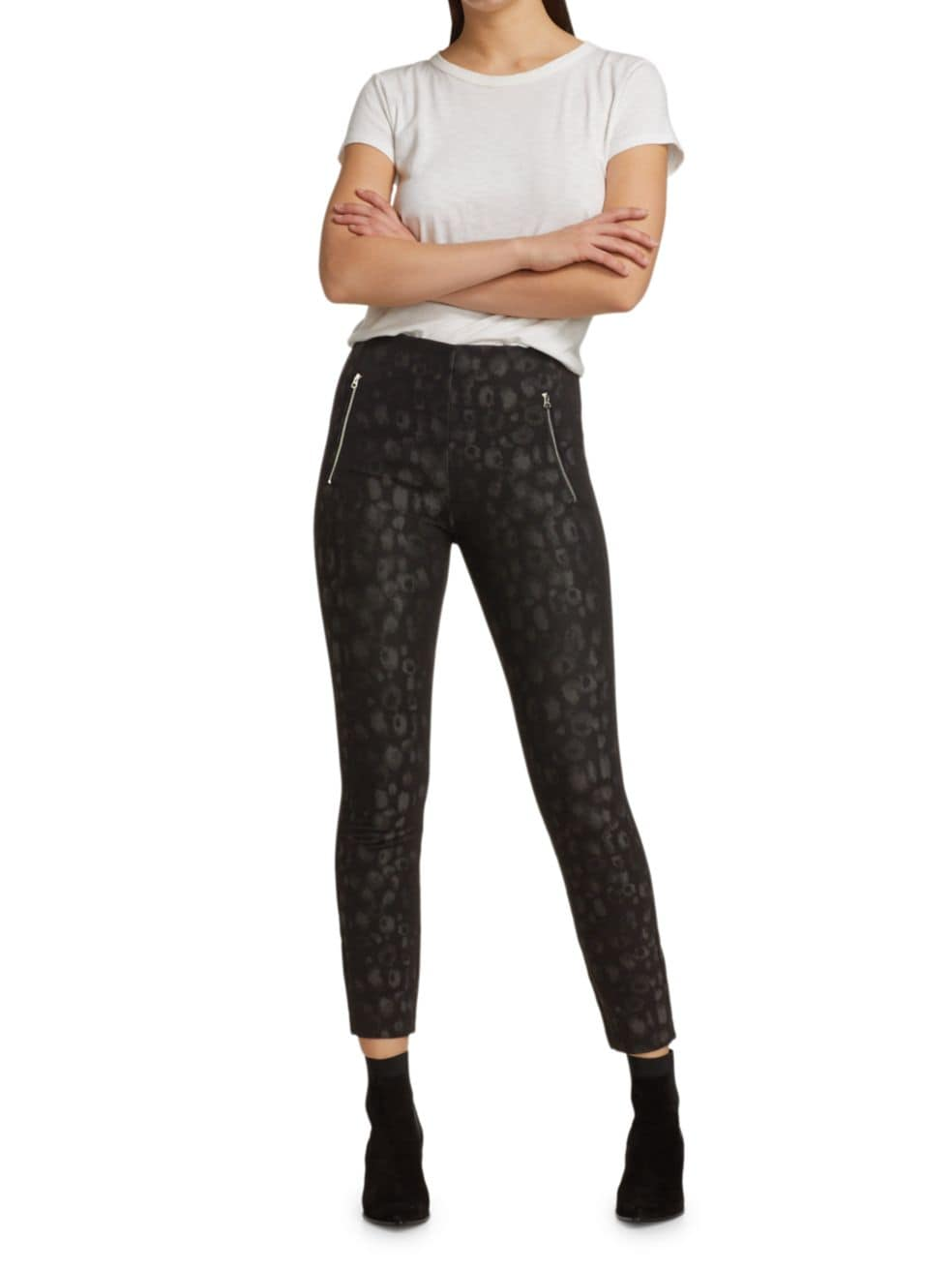 Rag & Bone Simone Leopard Leggings | SaksFifthAvenue